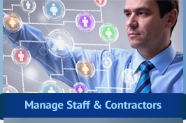 Manage Staff and Contractors